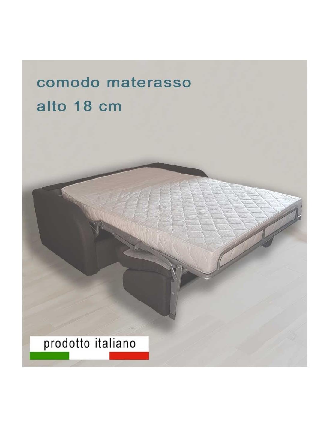 Divano Letto Materasso 25 Cm.Sb Relax Bed And Sofa