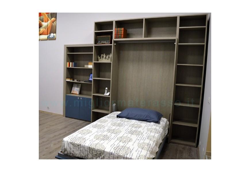 wall bed grey