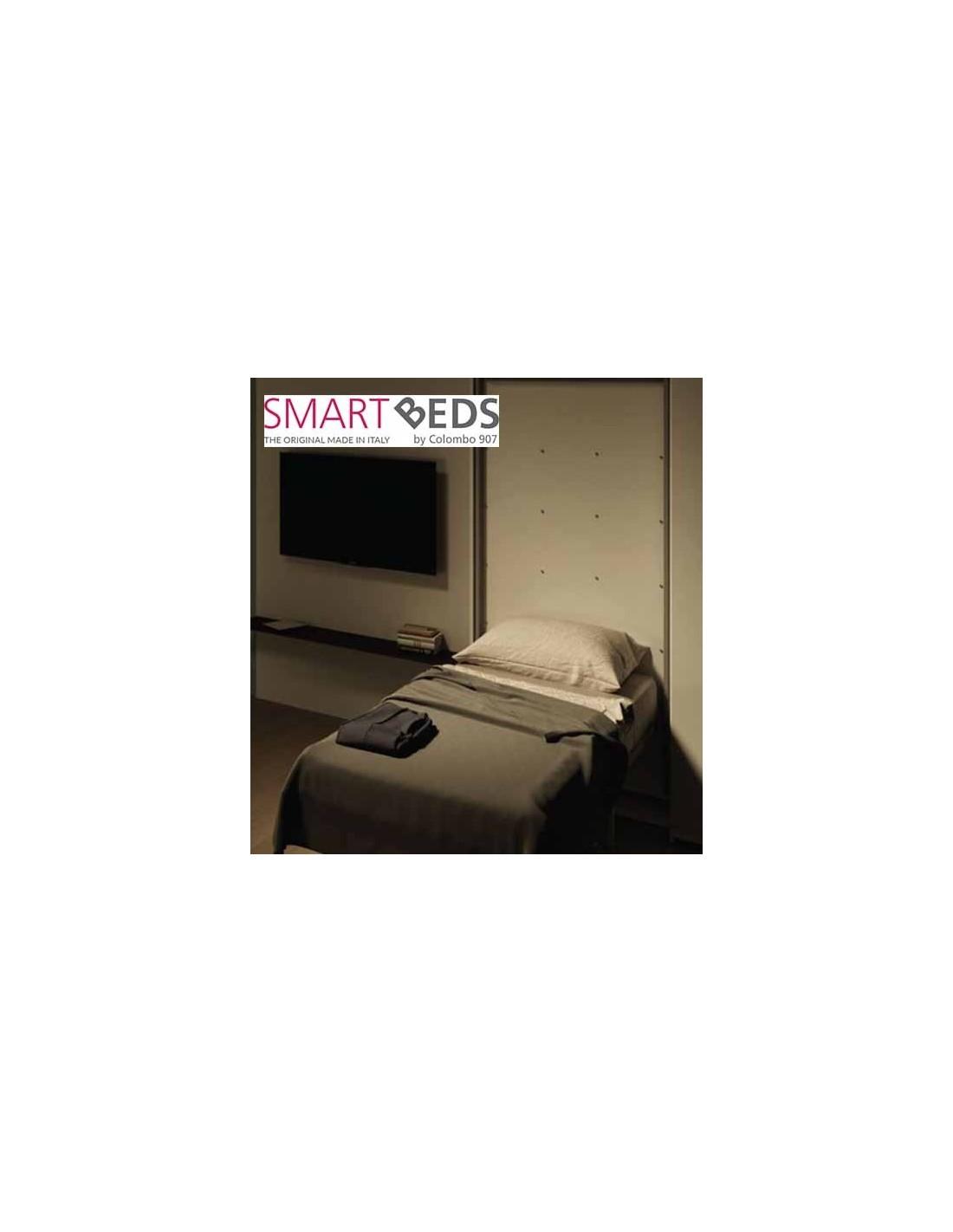 Letto a scomparsa singolo con scrivania colombo smart bed - Letto girevole a scomparsa ...
