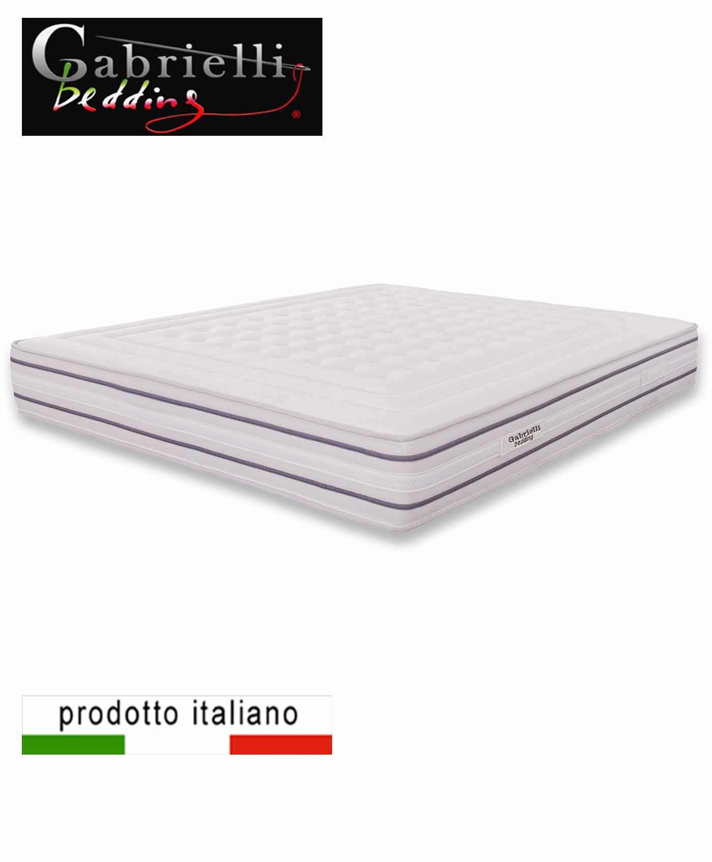 Materasso A Molle O Memory Foam.800 Pocket Coil Mattress With Memory Layer Dotti Gabrielli Bedding