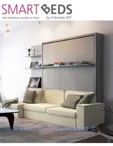 Double Bed Colombo Dile Wall Bed With Sofa