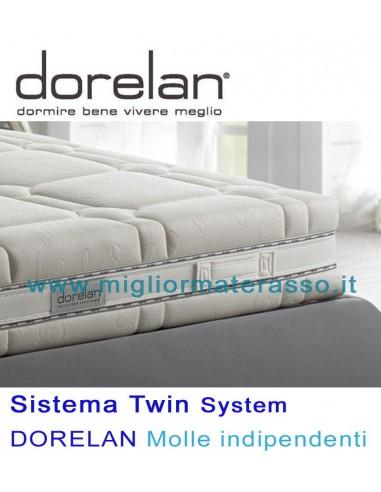 Materassi Molle Insacchettate Dorelan.Better Twin 2000 Sf Dorelan
