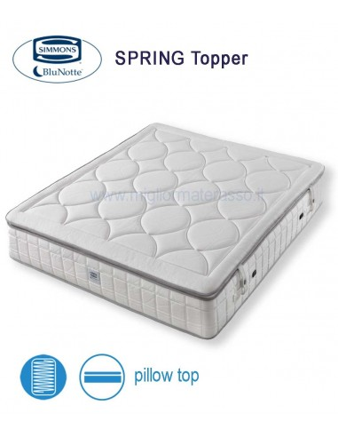 Materasso Simmons Dorsopedic Superior.Simmons Mattress Spring Topper