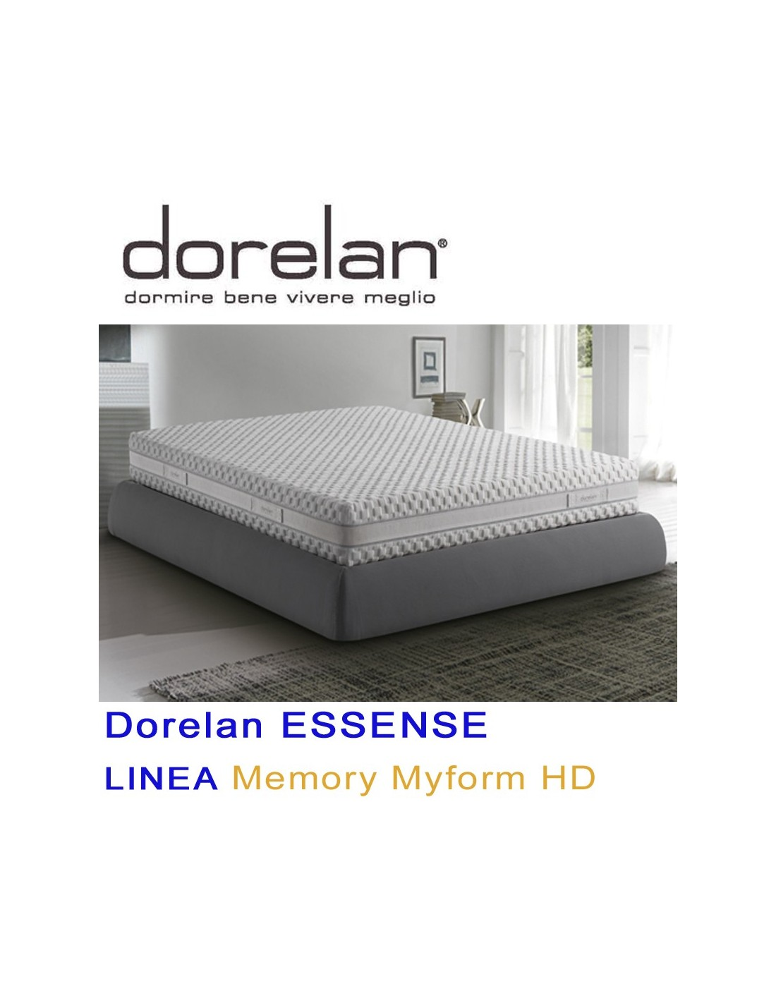 Dorelan Myform Hd Essense Impulse Portanza Media