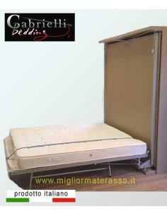 Materasso Memory per letto a scomparsa 16 cm