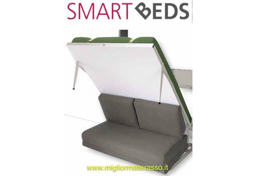 Wall bed and sofa
