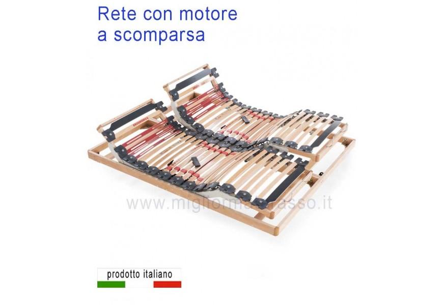 Letto Contenitore rete motorizzata