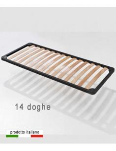 Rete singola per letto contenitore doghe