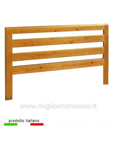 Testiera in legno LONG