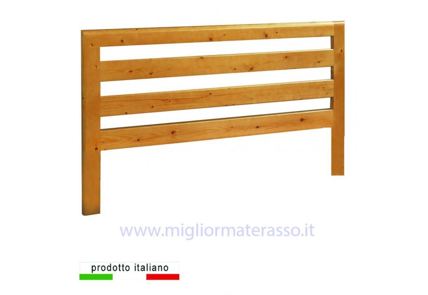 Testiera in legno massello LONG