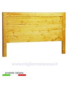 Testiera in legno pieno