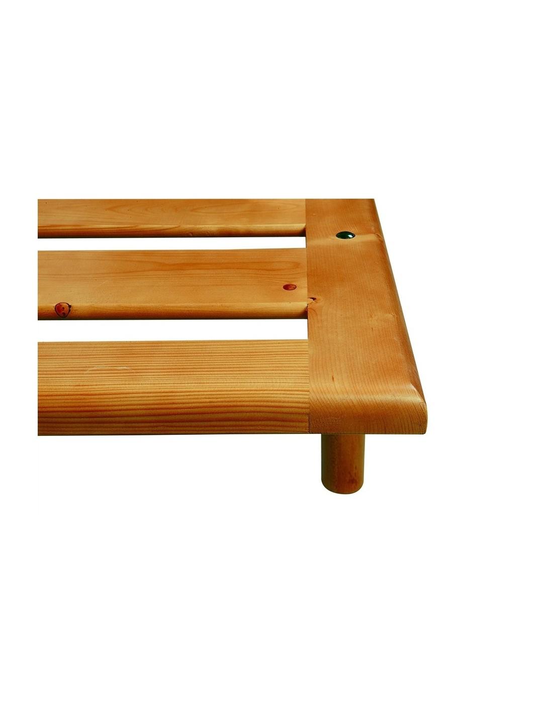 Rete in legno massello anche con testiera letto legno - Testiera letto in legno ...