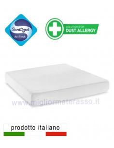 Sanitized mattress cover