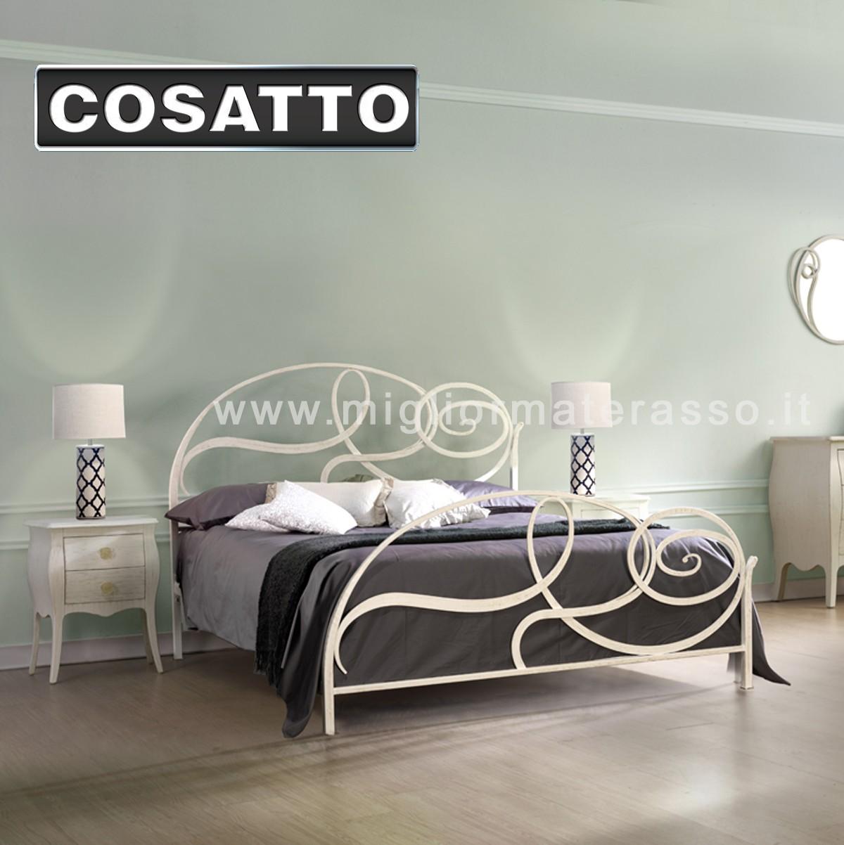 Capriccio letto in ferro Cosatto prezzi in offerta esposizione vendita