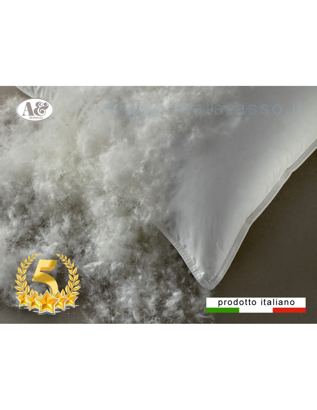 più soffice del Cuscino in piuma d'oca è il cuscino piumino