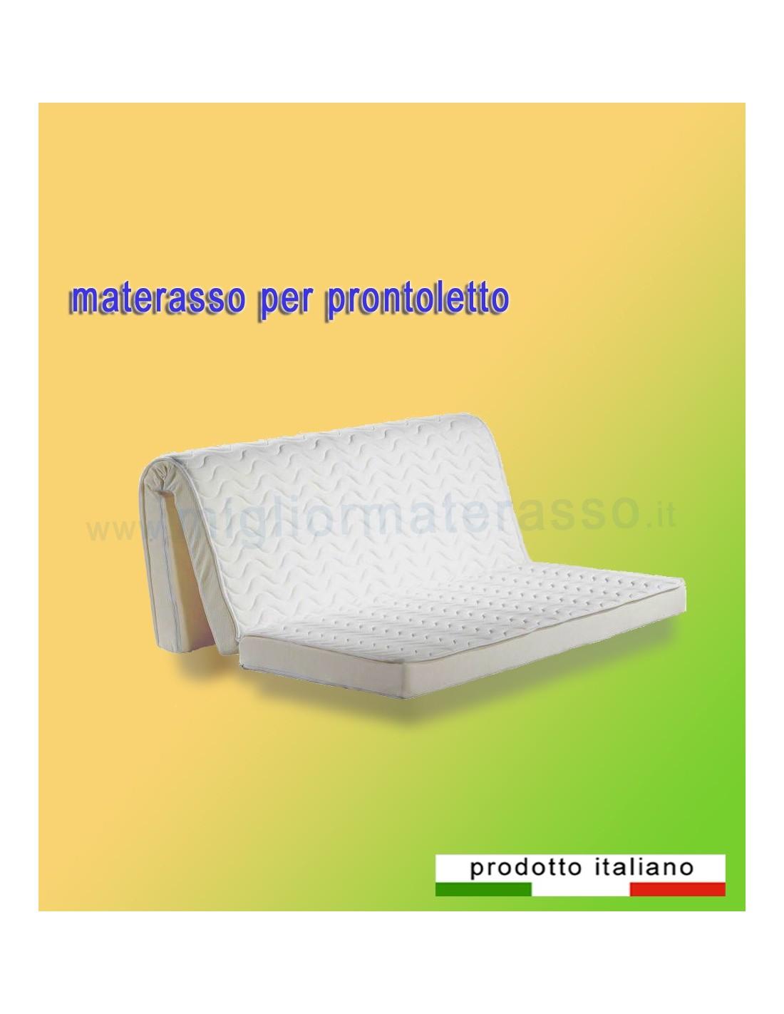 Materasso per prontoletto alto e comodo per dormire bene for Per dormire materassi opinioni