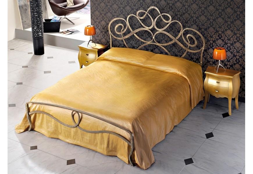 Marrone anticato Oro con pediera
