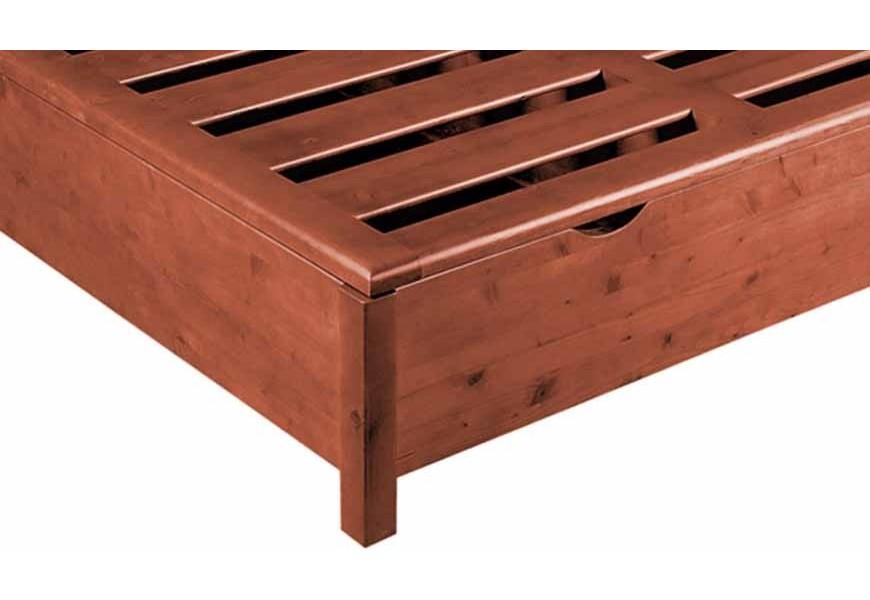 Letti in legno massello prezzi e modelli