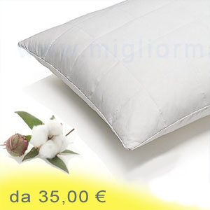 cuscini in cotone