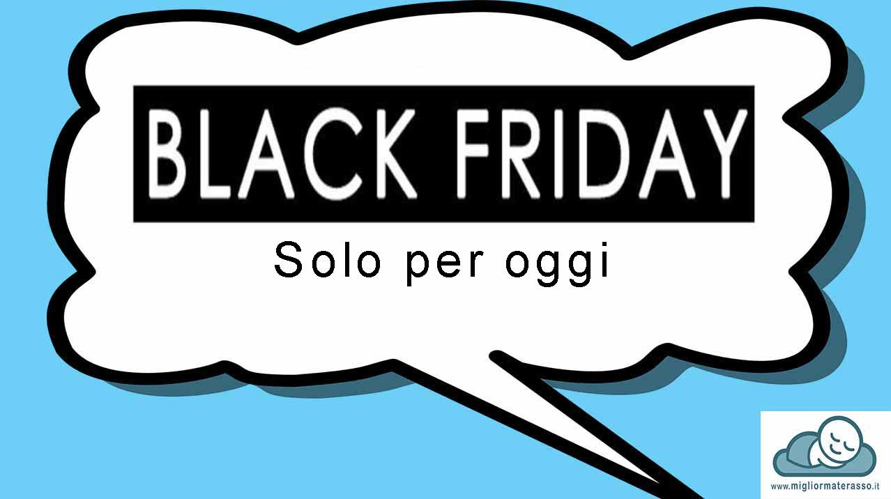 black friday materassi