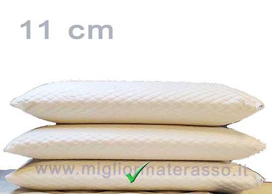 cuscino basso 11 cm